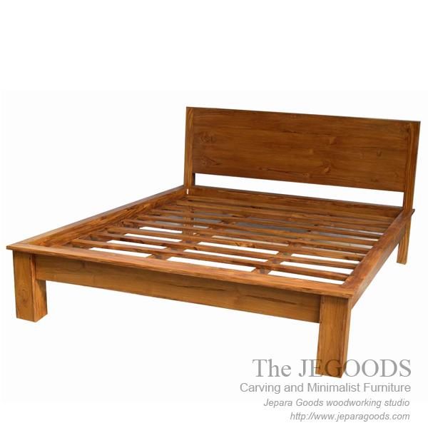 solid bed minimalist,teak indoor jepara furniture manufacturer exporter,mebel tempat tidur kayu jati jepara,bed minimalist modern,model bed minimalis modern jepara