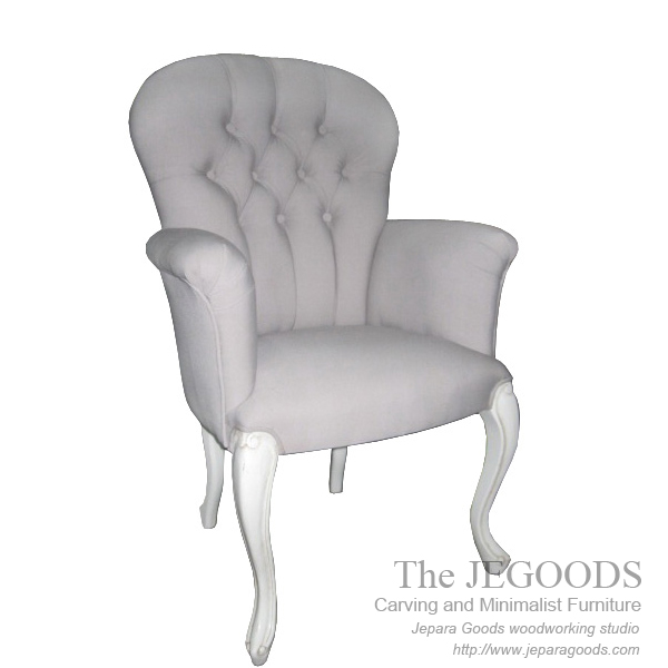 kursi wing chair,model kursi jok sofa wing chair,kursi makan wing chair,jual kursi shabbychic cat putih,kursi shabby chic vintage jepara,model kursi antique reproduction furniture jepara,french antique jepara furniture exporter