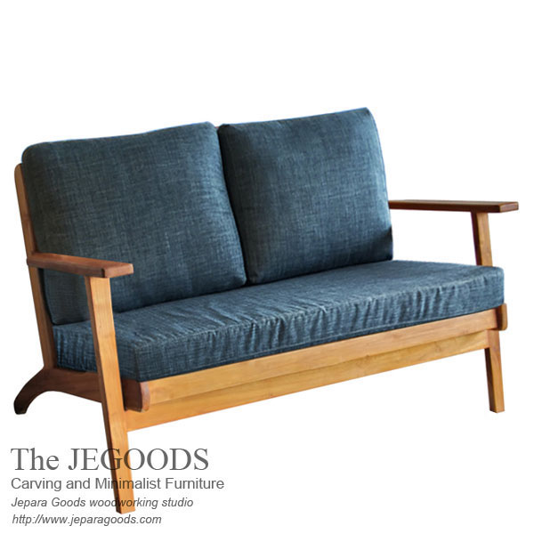 Deep Sofa Chair Retro Vintage Scandinavia Jepara Furniture Indonesia