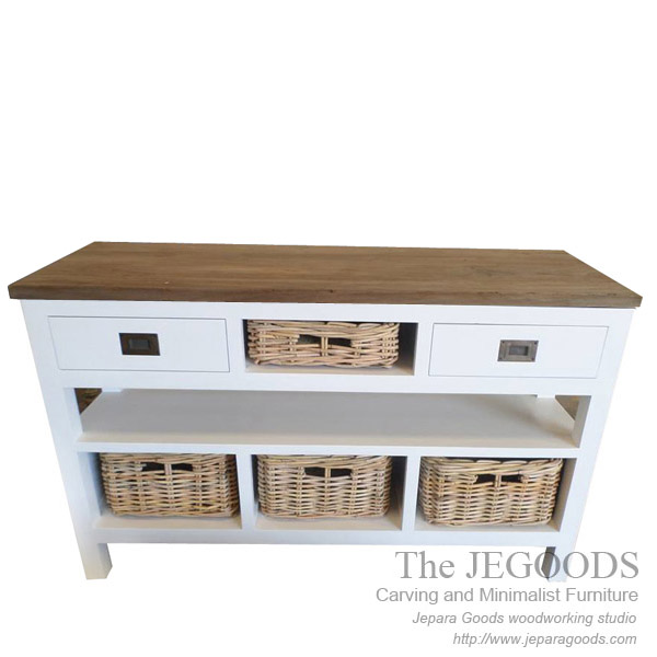 white painted furniture jepara,buffet rustic painted jepara,furniture painted antique jepara,buffet rattan basket,jepara white painted furniture,antique reproduction painted jepara goods