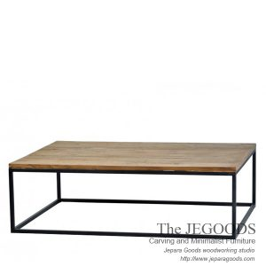 Segi Panjang Besi Coffee Table