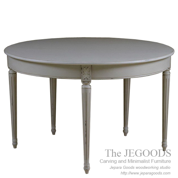 carving french dining table,mahogany antique jepara goods,french dining table jepara,shabby chic furniture jepara,meja makan french vintage dining table,jual mebel vintage french shabby chic jepara ekspor murah,french shabbychic furniture jepara