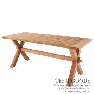 X Farmhouse Dining Table
