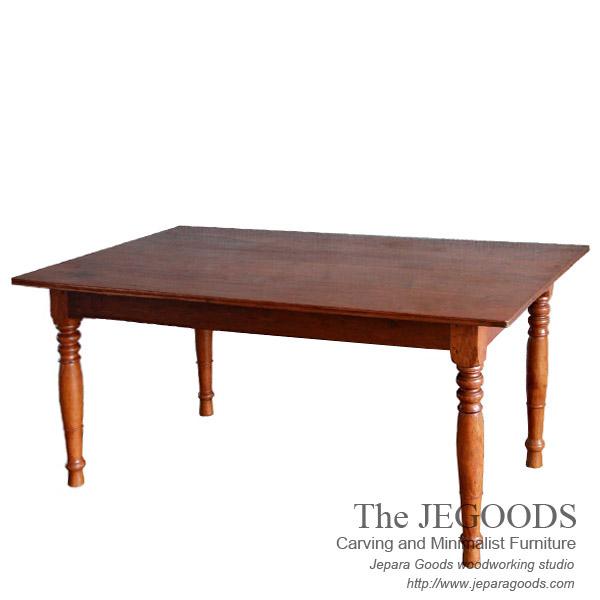 Jepara Teak Retro Dining Table