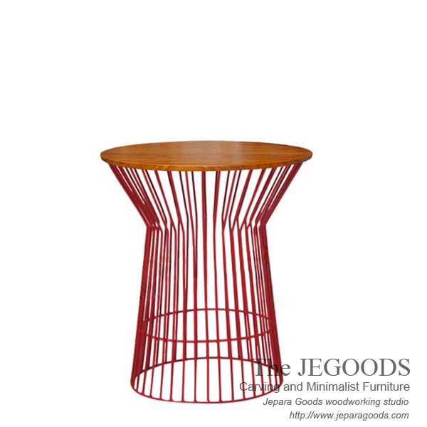 iron wire frameside table,meja kayu besi kawat jepara,furniture manufacturer jepara indonesia,jual kursi konsep rustic jati,model furniture pop,jual furniture rustic jepara,model furniture unik pop art jepara,produsen furniture rustic jepara,mebel rastik,cafe rustic,nakas-powder-coated-metal-furniture-rustic-gaya-industrial-steel-wild-side-table-model-rustic-kayu-besi-metal-legs-furniture-jepara-goods,industrial vintage furniture Jepara rustic furniture style