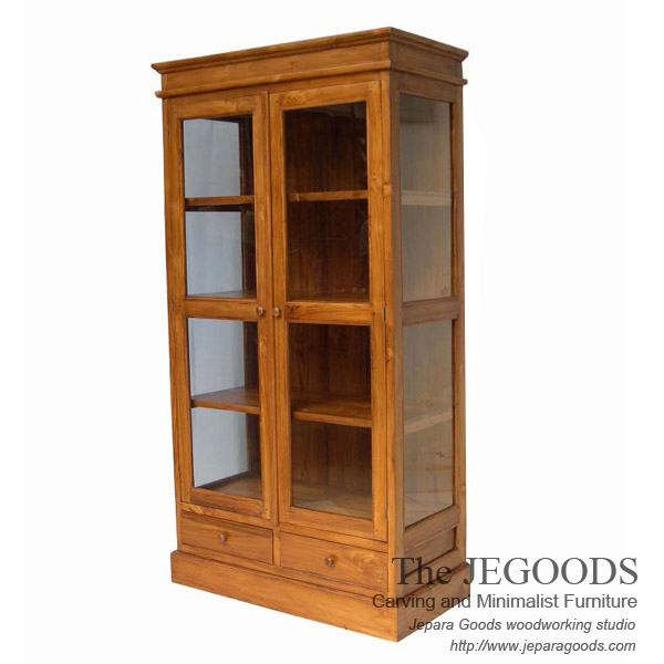 colonial crystal cabinet display,model almari pajangan minimalis modern,almari pajangan klasik modern,almari kolonial jati,modern minimalist display cabinet furniture,jepara furniture contractor,teak cabinet display furniture,furniture minimalis modern kayu jati jepara,mebel jati minimalis modern jepara,model furniture kontemporer minimalis modern,teak minimalist furniture manufacturer jepara exporter,indonesia teak manufacturer