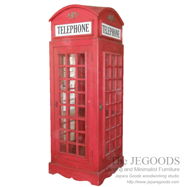 union jack telephone boot,union jack furniture,model almari telepon inggris,jual almari telepon inggris buatan jepara,furniture union jack vintage,white painted furniture,furniture ukir jepara cat putih duco,model mebel klasik cat duco jepara,shabby chic jepara vintage